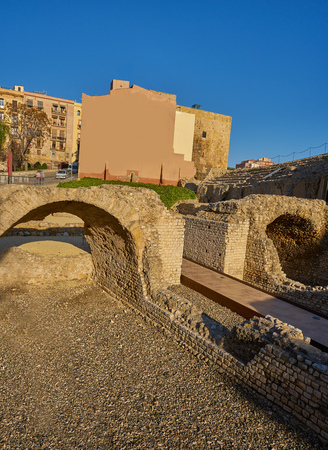 Roman Circus in Tarragona of Catalonia Circ