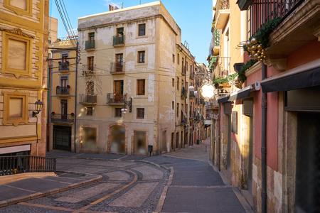 Baixada Misericordia street in Tarragona of Catalonia