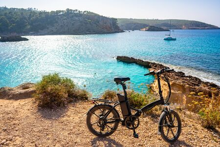 Ibiza Cala Xarraca in Sant Joan of Balearic Islands