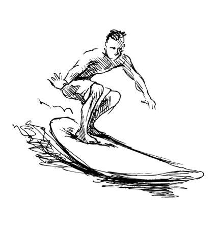 sketch: sketch Surfer