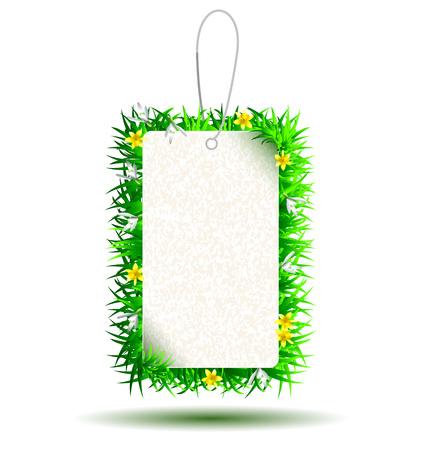 Vektor-Tag mit dem Motiv Frühling Standard-Bild - 74575244