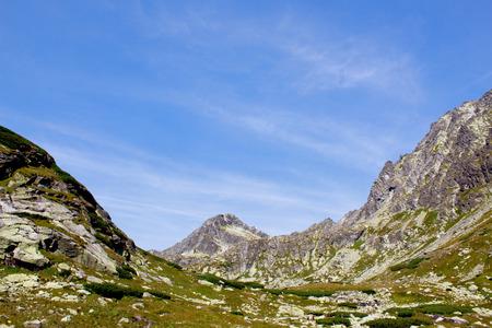 Landscape with mountains. High Tatras. Slovakia