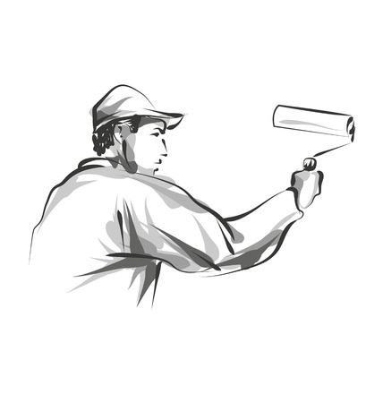 Vector line sketch decorator