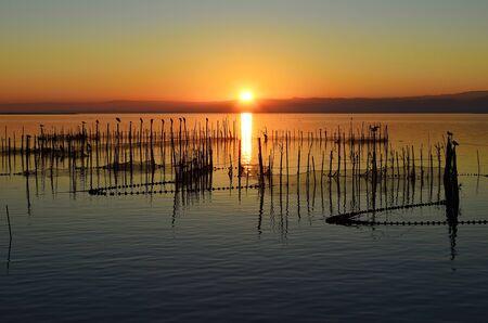 Sunset in the Albufera, Valencia
