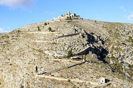 Hermitage of Santo Cristo, Bocairent Stock Photo