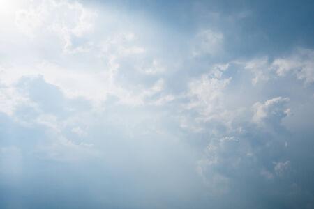 Daylight, beautiful cloud , and bright blue sky Фото со стока