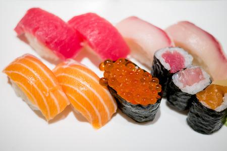 Delicious sushi Фото со стока