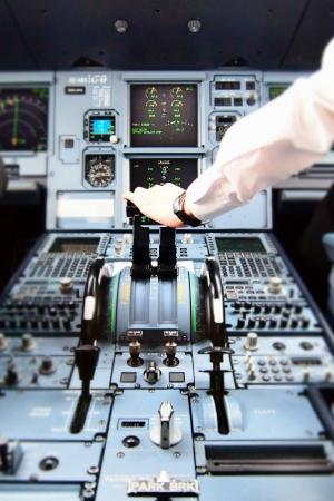 Inside Cockpit During Take off