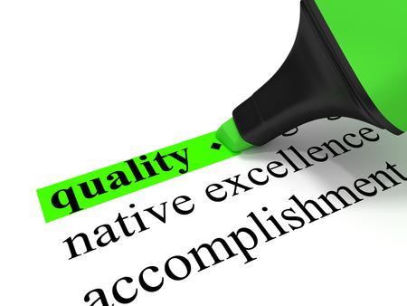 Quality Standard-Bild