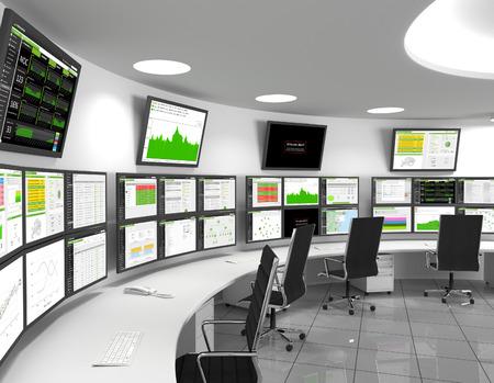 """Centro de operaciones de red: un centro de operaciones de red o NOC, también llamado """"centro de administración de red"""", es un lugar desde el cual el monitoreo y control de la red, o la administración de la red, se ejerce sobre una red."""