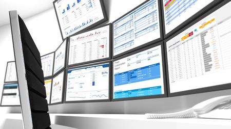 """Un centre d'opérations réseau ou CNP ont également appelé un «centre de gestion de réseau"""" est un endroit, qui de la surveillance de l'infrastructure, la gestion et le contrôle a lieu."""