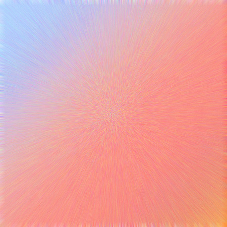 saturated orange blue gradient background with dots and motion blur to the center Stock Photo