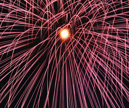 firework explosion in the night sky celebration holiday