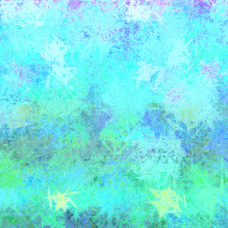 interesting uneven colorful texture with scratches and noise blue green colors background design in high resolution for your design project or website Stock Photo
