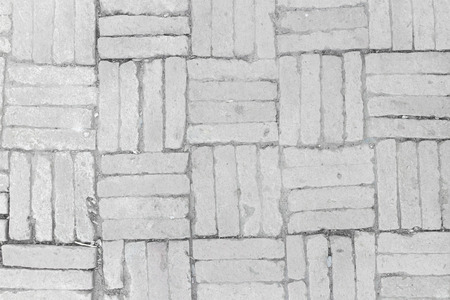 texture of stained old stucco and paint white brick wall background photo