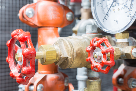 premises: Industrial fire control system