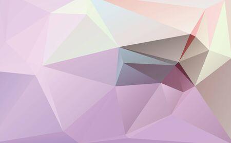 parametric: Pastel polygon geometric with  triangle parametric shape