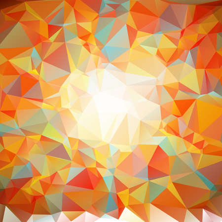 parametric: retro origami background in colorful