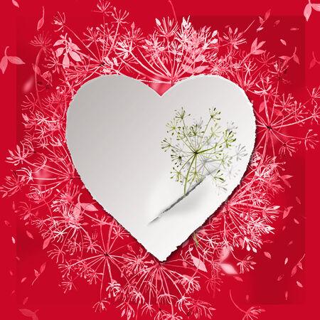 빨간 발렌타인입니다. 스톡 콘텐츠