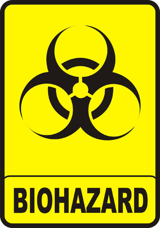 Biohazard Sign Stock Vector - 4316232