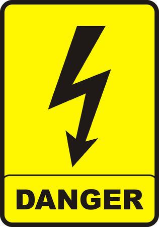 Danger Sign Stock Vector - 4316225