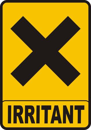Irritant Sign Stock Vector - 4316226