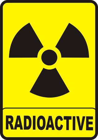 radioactive sign: Radioactive Illustration