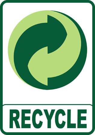 Recycle Sign Stock Vector - 4316228