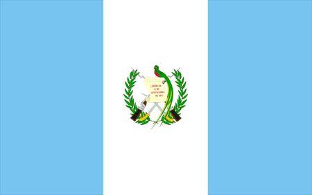 bandera de guatemala: Bandera Guatemala Foto de archivo