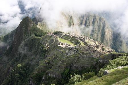 View of the Lost Incan City of Machu Picchu near Cusco Stock Photo - 9111409