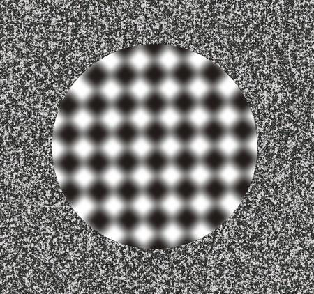 optical illusion: optical illusion Stock Photo