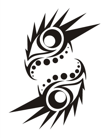 tribal tattoo Stock Photo - 10686035
