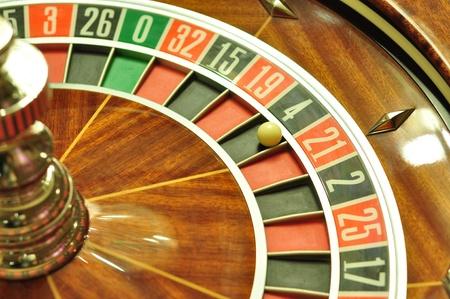 4 wheel: imagen con una ruleta de casino con el bal�n en el n�mero 4