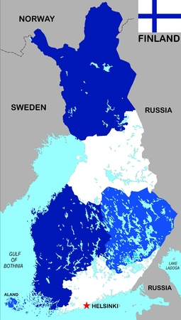 Very Big Size Sweden Political Map With Flag Stock Photo Picture - Sweden big map