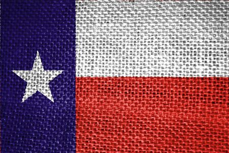 Very large 2d illustration of texas state flag