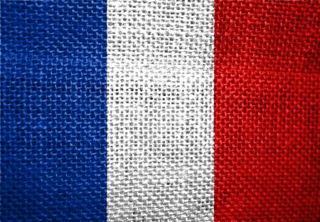 Très grand drapeau du pays de taille illustration de la France Banque d'images - 14587255