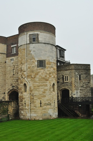 The Tower of London medieval castle and prison Middle Tower