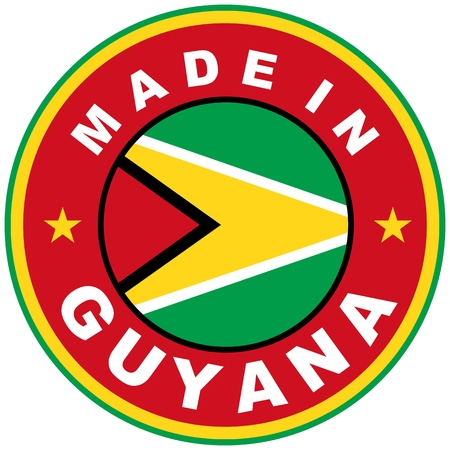 very big size made in guyana country label photo