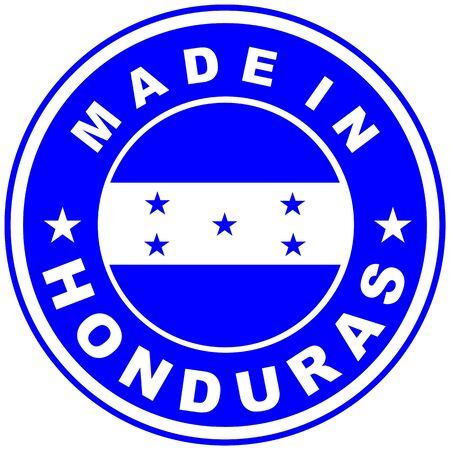honduras: very big size made in honduras country label