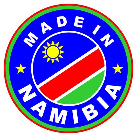 very big size made in namibia country label photo