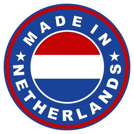 made in netherlands: very big size made in netherlands country label
