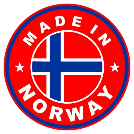 very big size made in norway country label photo