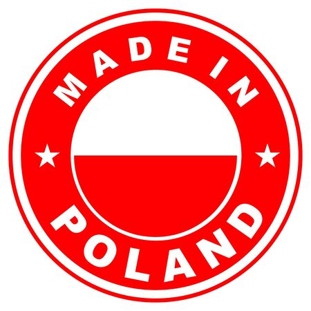 very big size made in poland country label photo