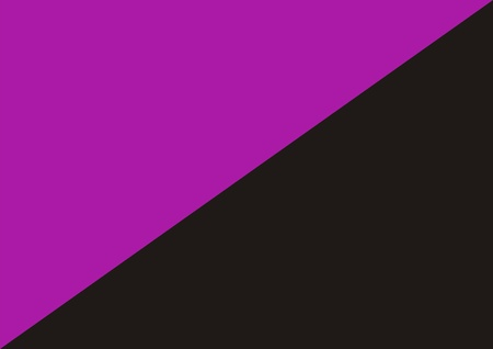 anarchist: anarchist feminism flag or anarcho feminism computer generated Stock Photo