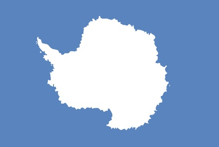 unofficial: antarctica continent region unofficial flag computer generated