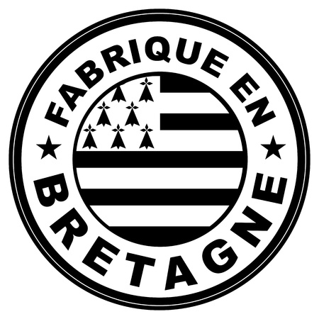 very big size fabrique en bretagne label illustratioan photo