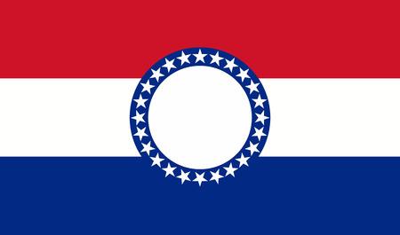 missouri usa state flag Фото со стока