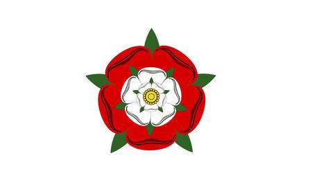 tudor: tudor dynasty rose england country flag computer generated Stock Photo