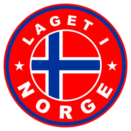 very big size laget i norge label made in norway photo