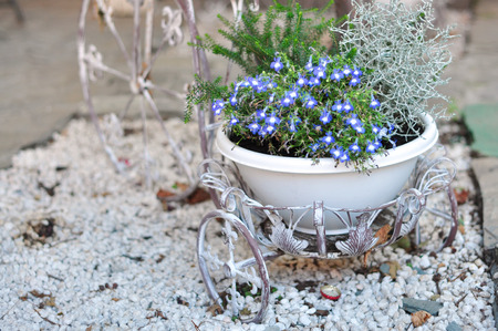 belle: bar terrace outdoor belle epoque flower vase